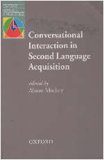 Conversational Interaction in Second Language Acquisition