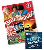 Brainwave is a six-level, American-English primary series that offers a strong CLIL content strand with practical methodology modules and webinars by recognized ELT experts.